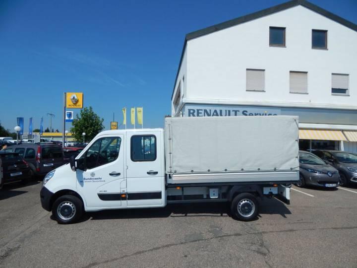 Renault Master DoKa L3H1 Pritsche/Plane 4x4 - 2013