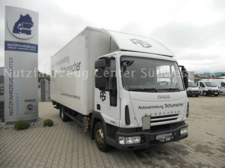 Iveco Euro Cargo 75E18/P Koffer mit Ladebordwand - 2007
