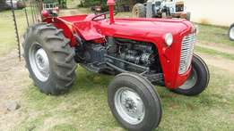 Massey Ferguson 135/ X Complete rebuild! From front to back.
