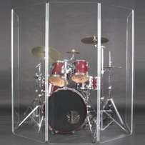 Perspex/ Acrylic Drum Shields on sale
