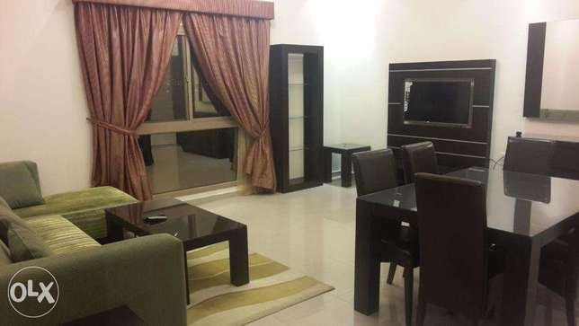 Near Seef Fully Furniture 2 Bed Balcony