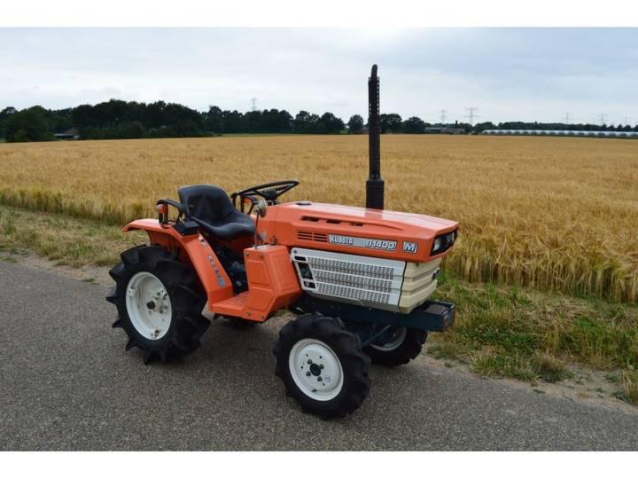 Kubota B1400 4WD 19 PK minitractor