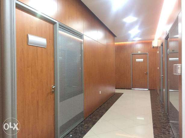 Furnished 2 Person Office Rent Starting from 4,000 QR Only ! السد -  2