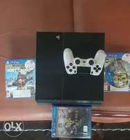 My Used Ps4 for sale with 4 games included