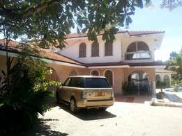 6 Bedroom Mansion with swimming pool in nyali