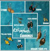 Assorted Earrings - R35 per set or R250 for 9 pairs!