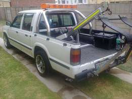 Ford courier V6 double cab registered Tow truck