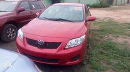 Tokunbo Toyota Corolla With DVD, Reverse Camera,Bluetooth