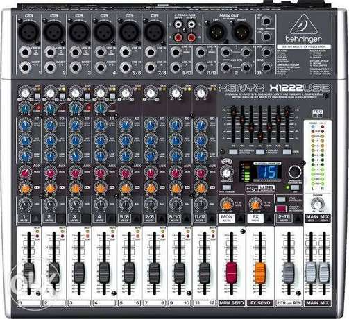 Mixer Sound BehringerXenyx X1222USB Mixer with USB and Effects