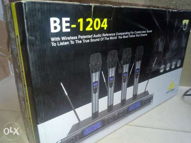 Quality BEHRINGER 4in1digital wireless mic Lagos Mainland - image 4
