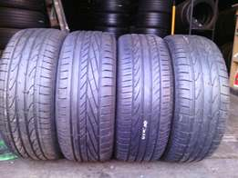 235/55/R17 on special for sale in a good condition each tyre is R750