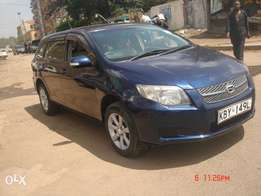 Locally Used Toyota Fielder KBY,1490CC