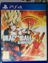 Dragon ballz XV for PS4 game