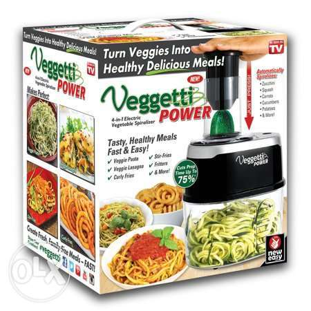 As Seen On TV Veggetti Power Electric Spaghetti Maker