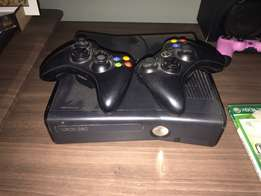 xbox 360 & psp combo +2 remotes +5 xbox games + 6 psp games