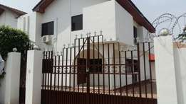 3 Bedroom with 1 bedroom boys quarters in East Legon