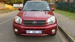 2004 Model Toyota Rav 4 with 105.000 Km in good Condition