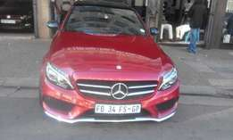 Mercedes benz AMG DSG 2016 model for sale 12000km R438000 with sunroof