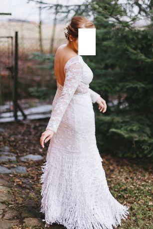 Suknia ślubna Boho Lata 20 Chi Chi London Kraków Bronowice Olxpl