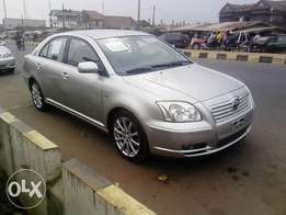 Toyota Avensis,(Manual gear) Tokunbo