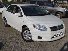 Toyota Axio white colour 2010 model Deal not to miss.