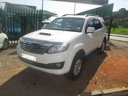 2012 toyota fortuner 3.0 d4d automatic for sale