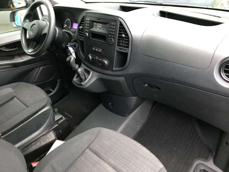 Mercedes-Benz VITO KASTEN 114 CDI LANG KLIMA, AHK, CHROM - 2017 - image 8