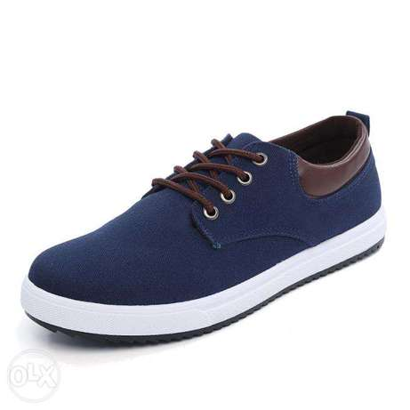 2017 new canvas shoes for men blue Nairobi CBD - image 7