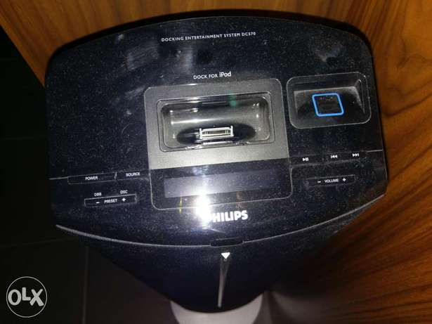 Philips docking speaker system DC570
