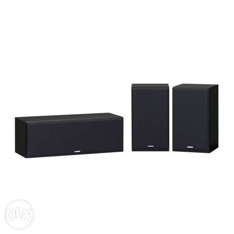Yamaha NS-P350 HI Fi Speakers - Center and 2 Surround Speakers