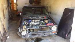 Accident damaged vw caddy for sale