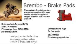 Brembo Brake Pads for Motorcycles