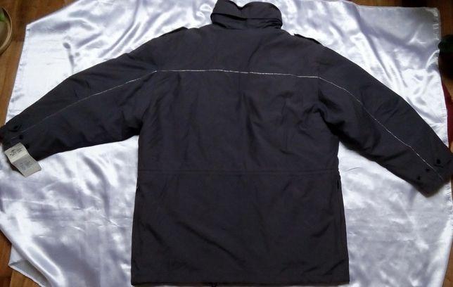 Ciepła męska kurtka zimowa z pikowaną podpinką 54 NOWA