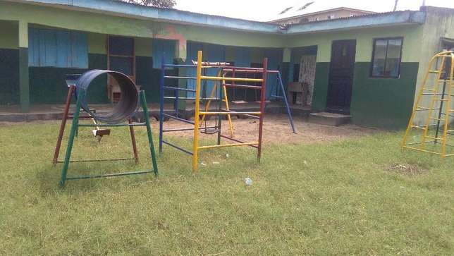 A government approved private school, on a 4 plot of land fence at Iba Ojo - image 8