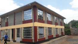 Thika rd - 3 bedroom furnished house with compound