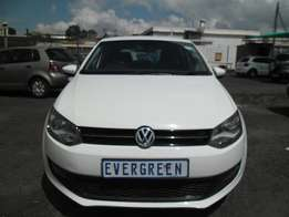Vw Polo6 1.4 Comfortline 2012 Model 4 Doors, Factory A/C and C/D Playe