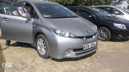 Toyota wish new shape new