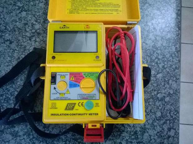 Megger insulation tester..see pictures Alberton - image 3
