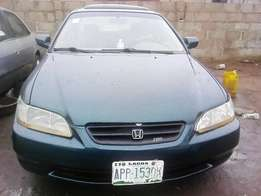 Honda Accord (Super clean,Baby boy) Green Colour,2002 Model