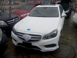 Super Clean White 2014 Mercedes Benz E350 4MATIC