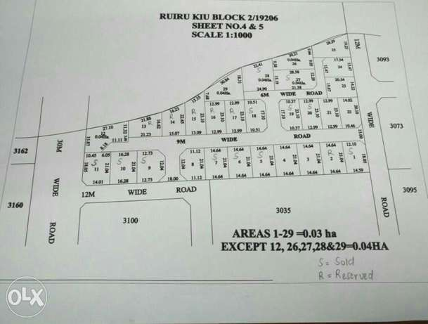 40*80 gated plots, 800 metres off the Eastern bypass near Kamakis, Ruiru - image 2