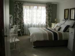 1 bedroom- furnished and equipped garden cottage