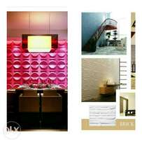 3D Wall papers, 3D panels