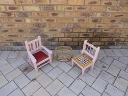 Porceline Doll chairs