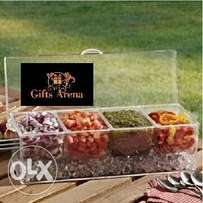 Mothers' Choice Condiment Tray with Ice Chamber