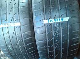 Good quality used 18inch tyres from R500 each