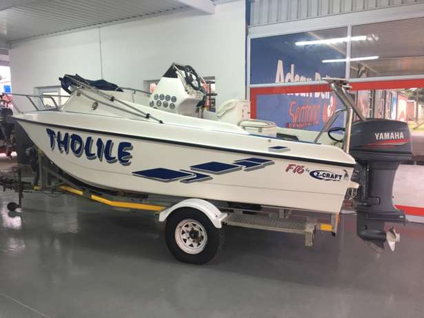 F16 Z-Craft with 2 x 40 hp Yamaha motors for sale Richards Bay - image 2