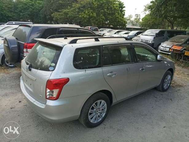 Clean Silver Valvematic 2010 model Fielder 1.8L KCP number Mombasa Island - image 1