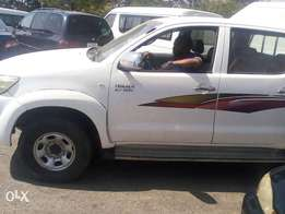 Toyota Hilux 2010 distressed sale only issue