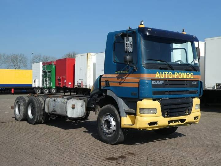 DAF CF 85.380 6x4 full steel - 2002